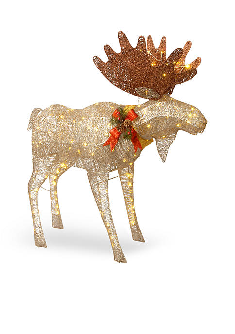 National Tree Company® 48-in. Crystal Splendor Moose with