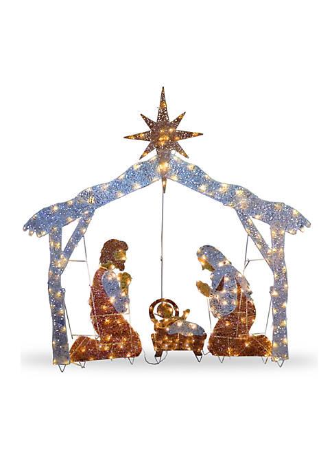 National Tree Company® Crystal Nativity