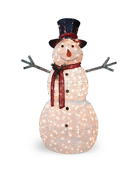 National Tree Company® Crystal Snowman