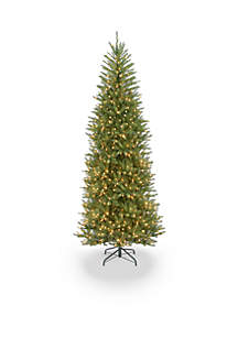 National Tree Company® 9-ft. Dunhill Fir Slim Tree with Clear Lights
