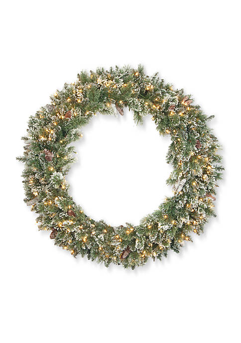 National Tree Company® Glittery Bristle Pine Wreath with