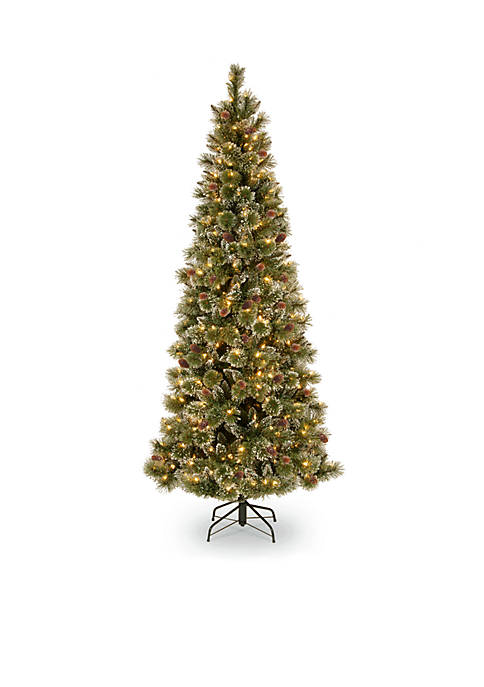 National Tree Company® 6.5-Ft. Glittery Bristle Slim Pine