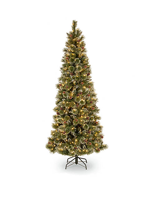 National Tree Company® 6.5 Foot Glittery Bristle Pine