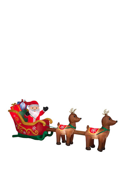 National Tree Company® 12.5 Foot Inflatable Santa in
