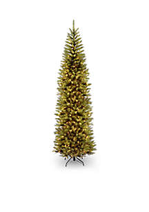 9-Ft. Kingswood Fir Pencil Tree With Clear Lights