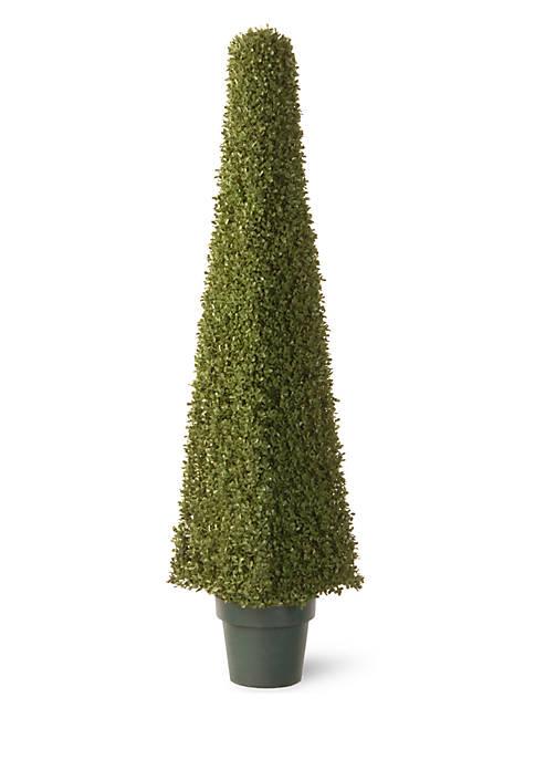 National Tree Company® Mini Boxwood Square with Greenpot