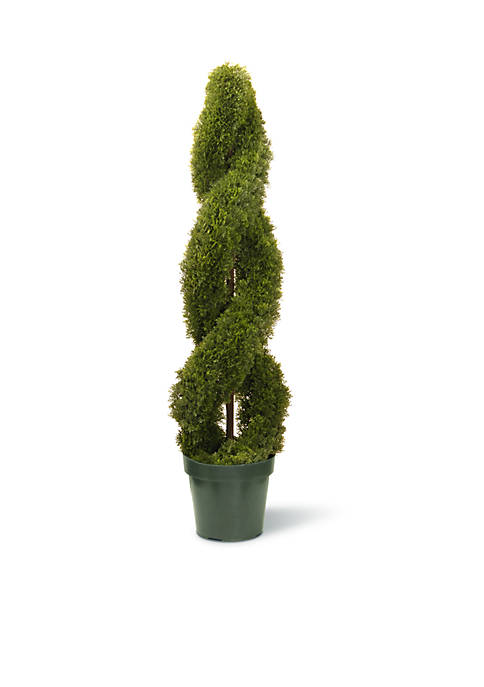 National Tree Company® Double Cedar Spiral W/ Green