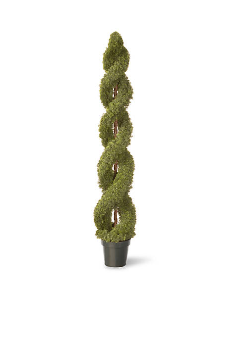 National Tree Company® Double Cedar Spirals With Green