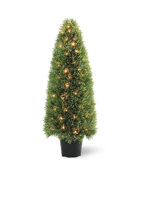 National Tree Company® Upright Juniper Tree with Green