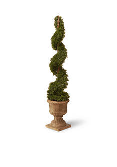 National Tree Company® Cedar Spiral In Urn