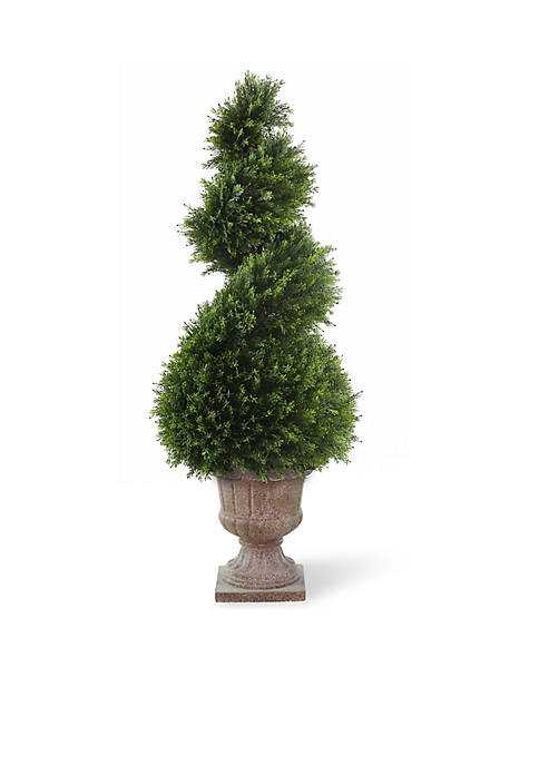 National Tree Company® Juniper Spiral Tree With Decorative