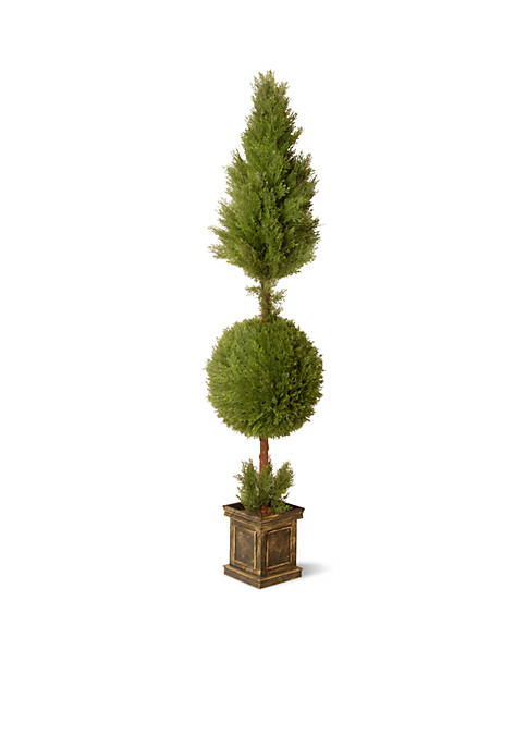 National Tree Company® Juniper Cone and Ball Topiary