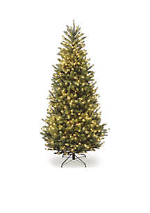 National Tree Company® 6.5-ft. Natural Fraser Slim Fir Tree with Clear Lights