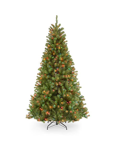 6.5-ft. North Valley Spruce Tree with Multi-color Lights