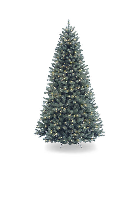 9-ft. North Valley Blue Spruce Tree with Clear Lights