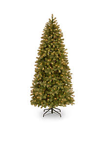 National Tree Company® Feel Real Downswept Douglas Slim Fir with Clear Lights