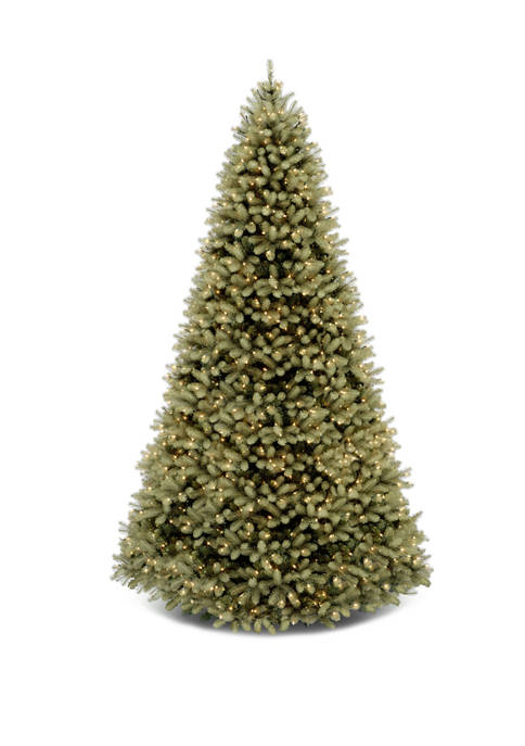 10 Foot Downswept Douglas Fir Tree with Dual Color® LED Lights