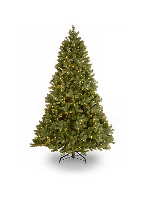6.5-ft. Feel Real Downswept Douglas Fir Hinged Tree with LED Lights and PowerConnect