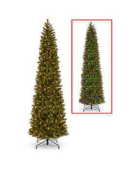 b34fe932ac8 ... National Tree Company® Feel Real Downswept Douglas Fir Pencil Slim Tree  with LED Lights