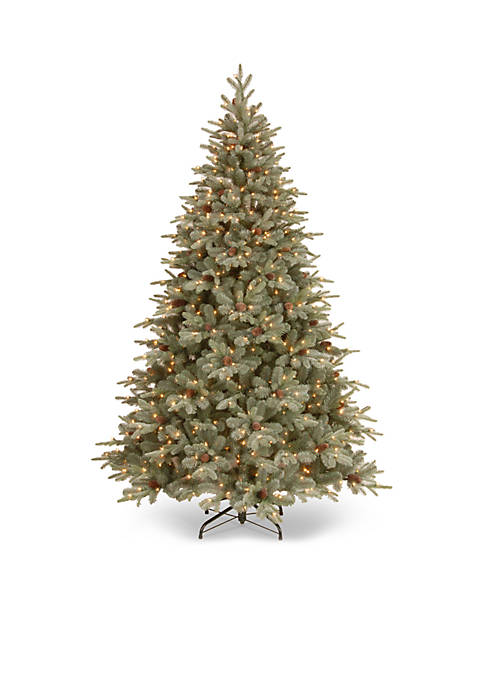 National Tree Company® 7.5-ft. Frosted Arctic Spruce Hinged