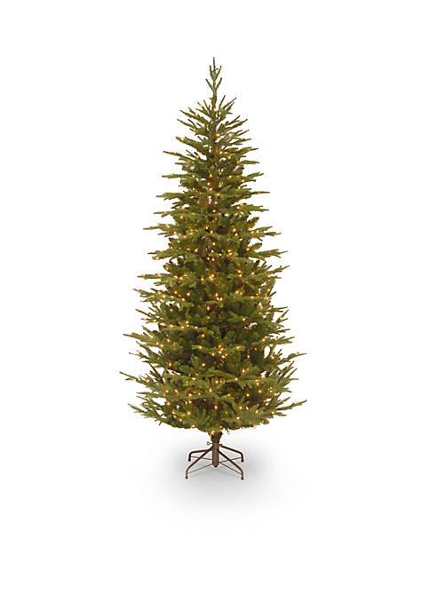7.5 Foot Fraser Grande Slim Tree with Clear Lights