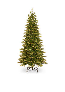 Feel Real Glen Ridge Spruce Slim Tree with Clear Lights and PowerConnect