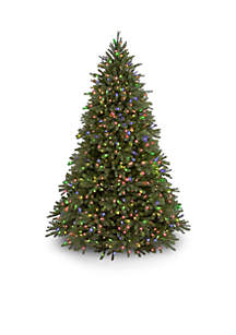 9-ft. Feel Real Jersey Fraser Fir Tree with Multi-Colored Lights