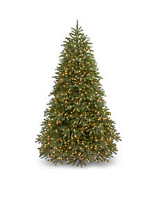 National Tree Company® 10-ft. Feel Real Jersey Fraser Fir Medium Tree with LED Lights