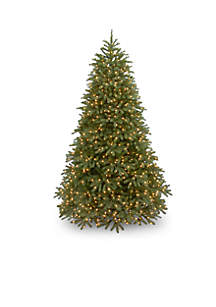 9-ft. Feel Real Jersey Fraser Fir Medium Tree with LED Lights