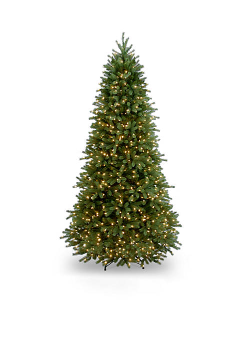 6.5-ft. Feel Real Jersey Fraser Fir Slim Tree with Clear Lights