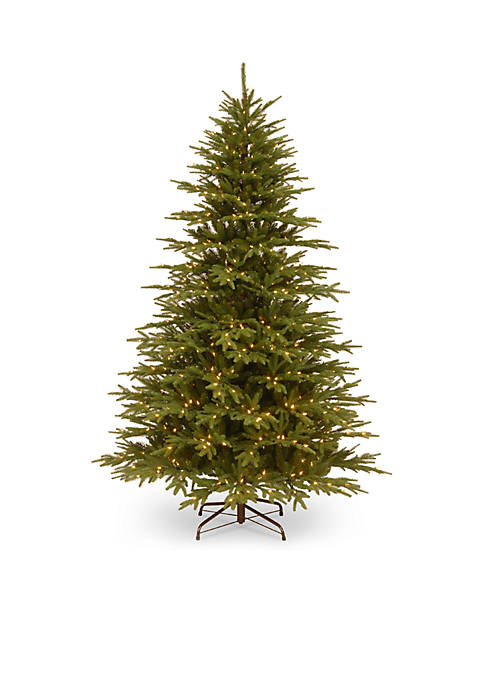 7.5-ft. Feel Real Monterey Fir Hinged Tree with Clear Lights