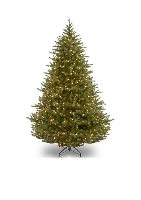 7.5 Foot Feel Real Norway Tree with Clear Lights