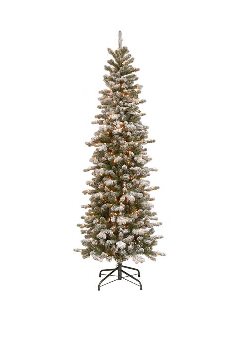 National Tree Company® 7.5 Foot PowerConnect™ Snowy