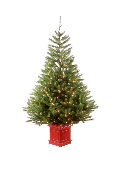 National Tree Company® 5 Foot Topeka Spruce Entrance
