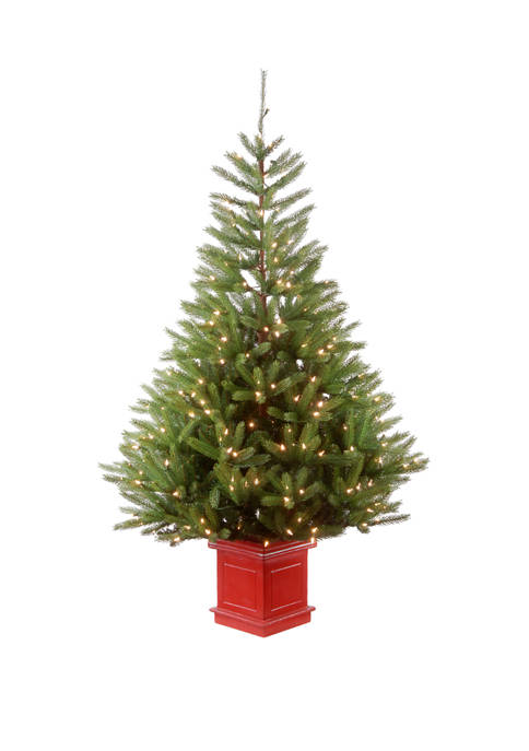 National Tree Company® 6 Foot Topeka Spruce Entrance