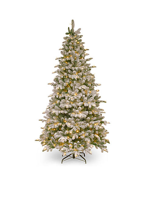 National Tree Company® 7.5-ft. Snowy Everest Fir Medium