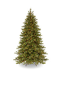 7.5-ft. Feel Real Yukon Fir Tree with Clear Lights