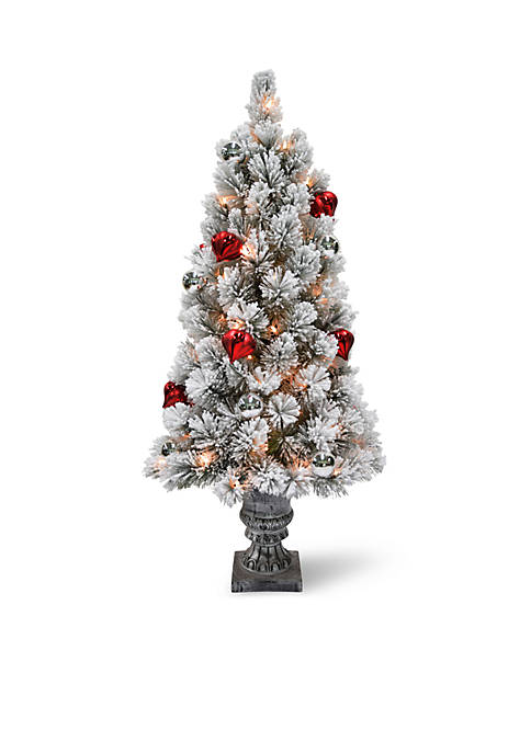 National Tree Company® 4 ft Snowy Bristle Pine