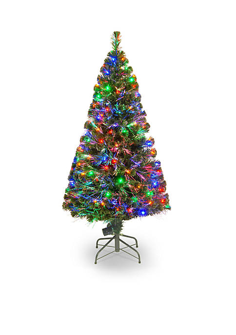 National Tree Company® 5-ft. Fiber Optic Evergreen Tree