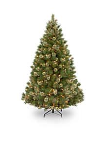 National Tree Company® 7.5 ft Wispy Willow Grande Medium Hinged Tree