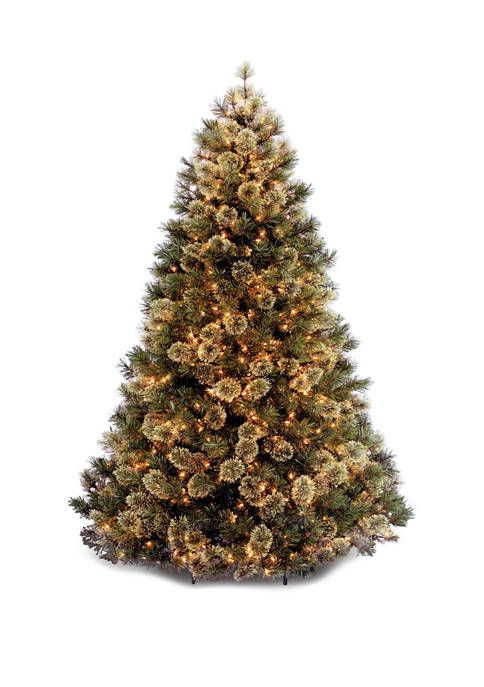 7.5 Foot Wispy Willow Tree with Clear Lights