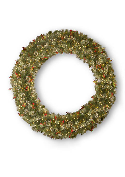 National Tree Company® Wintry Pine Wreath With Cones,