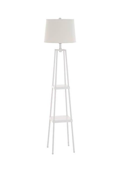 Catalina Lighting Sawyer Etagere Floor Lamp