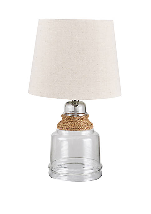 Catalina Lighting 1-Light Rope Accent Lamp