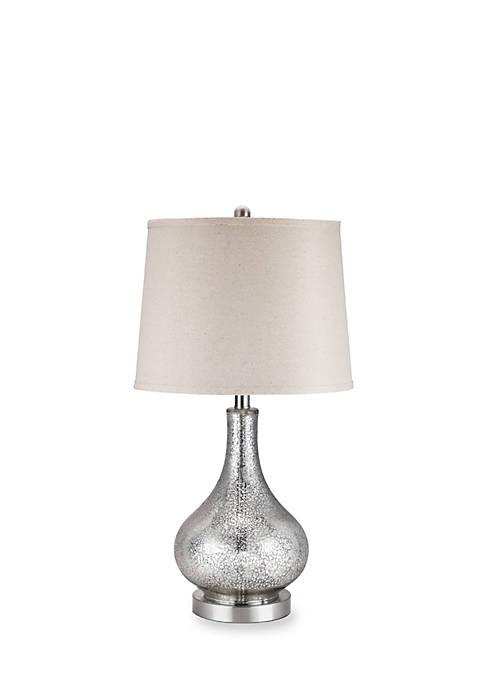 Catalina Lighting Mackenzie Mercury Glass Lamp