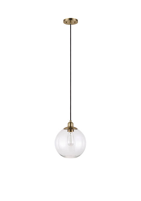 Catalina Lighting Clear Glass Orb Pendant