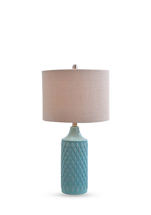 Catalina Lighting Cassie Quilt Table Lamp