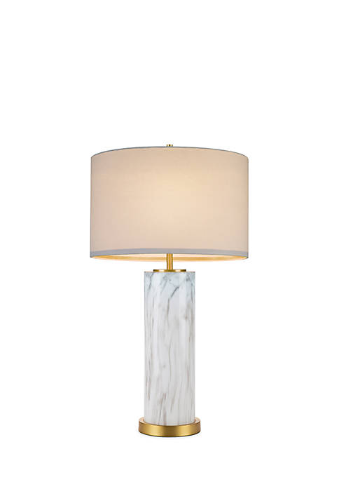 cupcakes and cashmere™ Marble Column Table Lamp