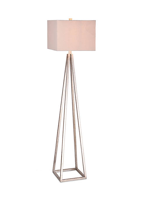 Catalina Lighting Ezra Antique Pewter Floor Lamp