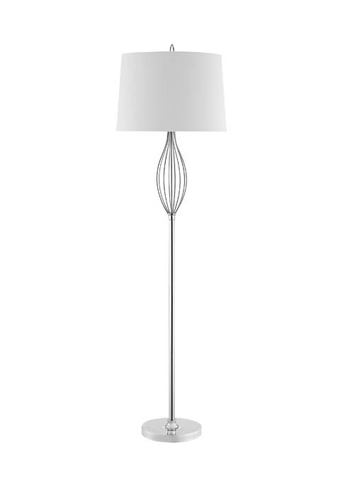 Ivy FL Polished Nickel Lamp